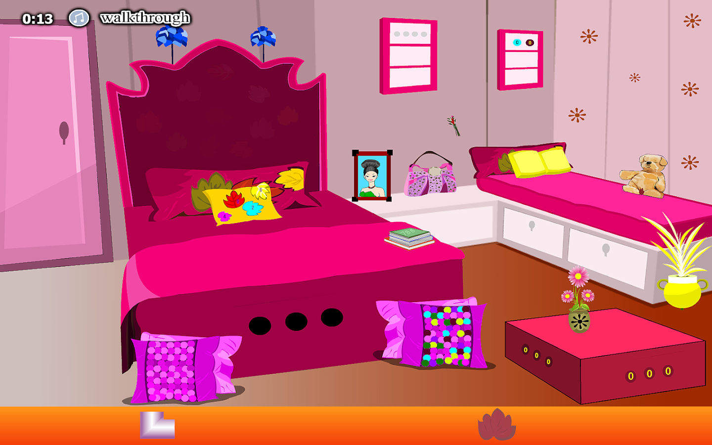 Baby Girl Bedroom Escape- screenshot