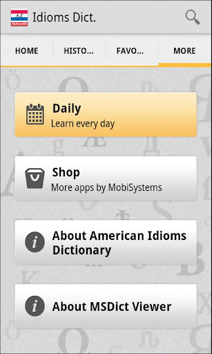 American Idioms Dictionar