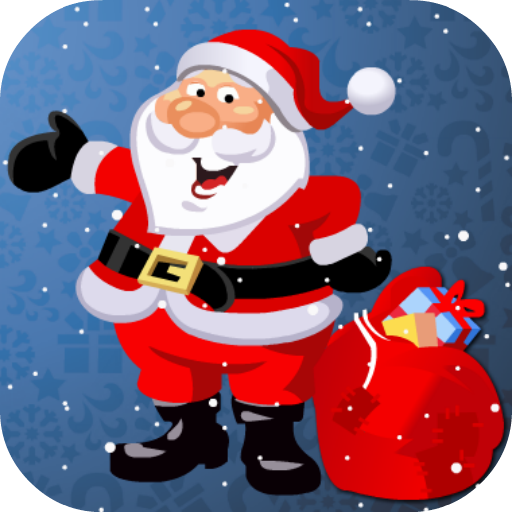 时尚的圣诞老人 LOGO-APP點子