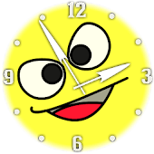 Analog Clock Smiles 2