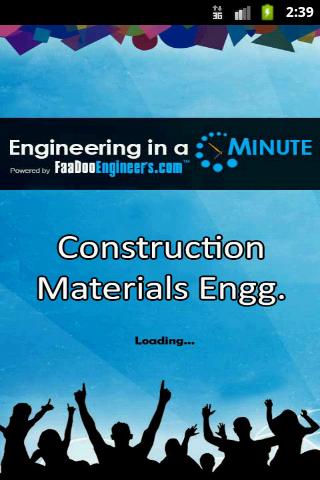 Construction Materials Engg.-1