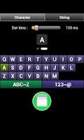 Screenshot of Morse Audio - Morse Code Learn
