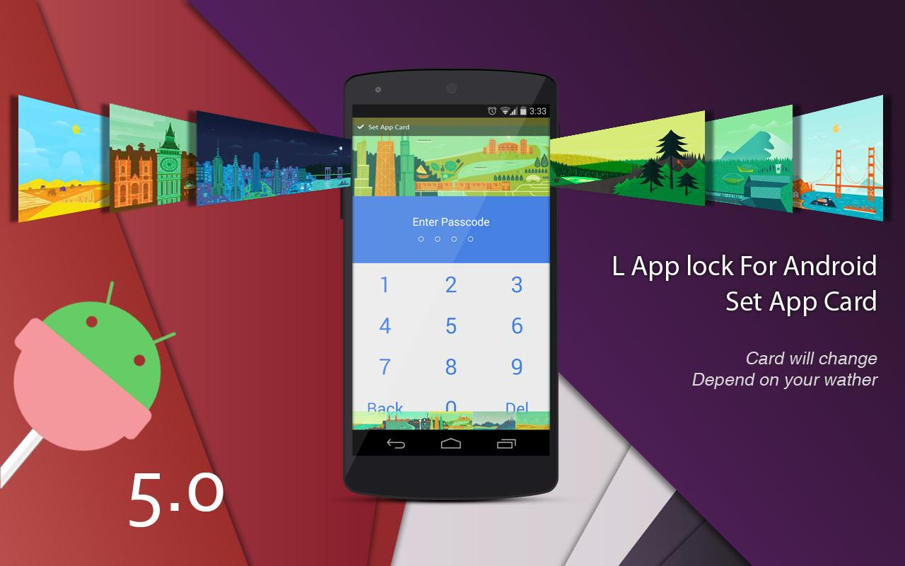 L Applock For Android- screenshot