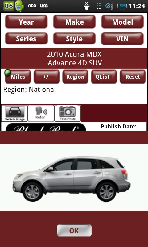myUsedCars - screenshot