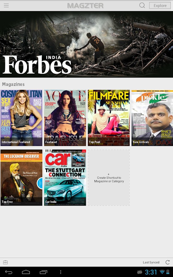 Magzter -Magazine & Book Store - screenshot