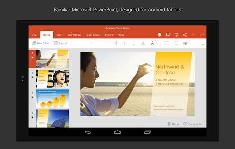 PowerPoint for Tablet v16.0.3601.1010