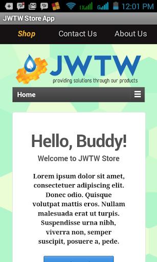JWTW Store App