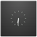 Transparent Clock Widget 2x2 icon