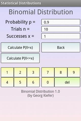 table a statistics calculator 2