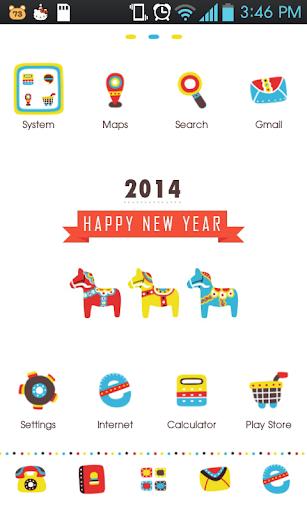 dalahorse 2014 go launcher
