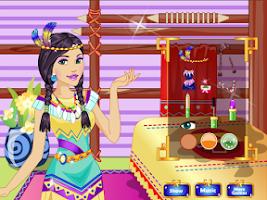 Screenshot of Native Princess Makeover