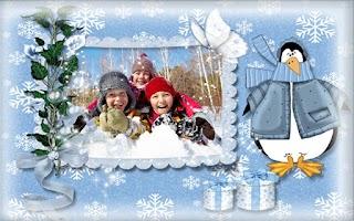 Screenshot of Winter Photo Frames