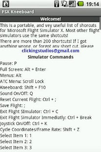 FSX Kneeboard - screenshot thumbnail