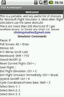 FSX Kneeboard - screenshot thumbnail