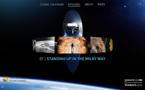 COSMOS: A Spacetime Odyssey- screenshot thumbnail