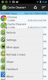 Cache Cleaner + Screenshot 1