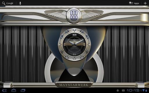 【免費個人化App】Clock Widget Iron Steel-APP點子