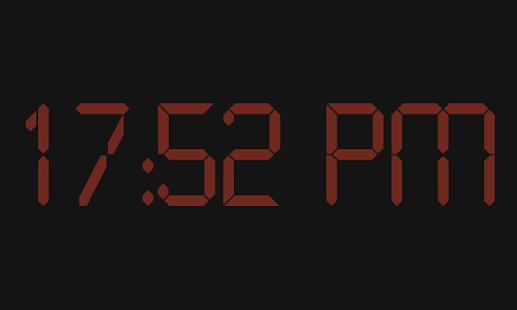 Bedside Clock- screenshot thumbnail