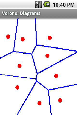 Voronoi Diagram - screenshot