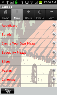 Pasquinis Pizzeria- screenshot thumbnail