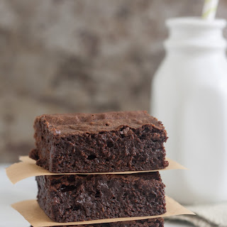 Fudgy Triple Chocolate Avocado Brownies