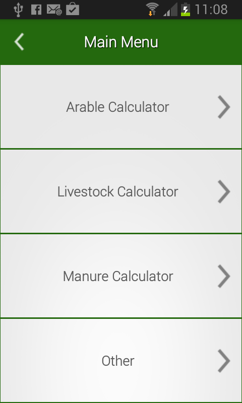 Fertiliser calculator android apps on google play for Soil removal calculator