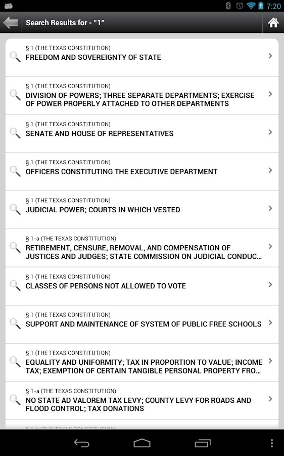 TX Penal Code (2012 Updates) - screenshot