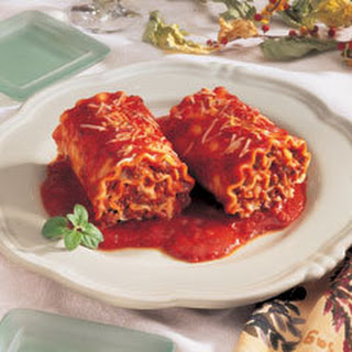 Hearty Lasagna Rolls.