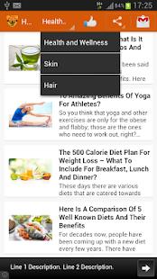Health & Beauty Tips - screenshot thumbnail