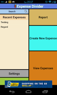 Expense Manager & Divider - screenshot thumbnail