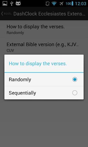免費書籍App|DashClock Bible Ecclesiastes|阿達玩APP