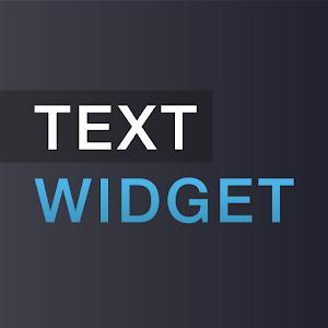 Text widget