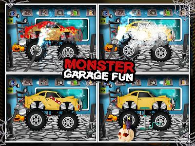 Monster Car Garage Fun v36.1.1