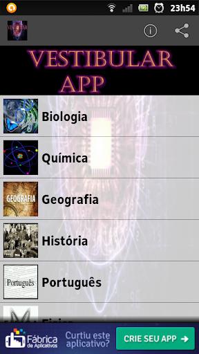 Vestibular App