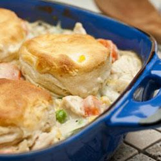 Easy Chicken and Biscuits.