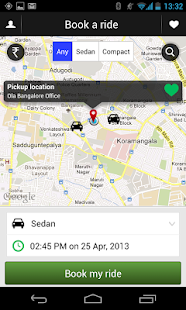 Ola cabs – Book taxi in India