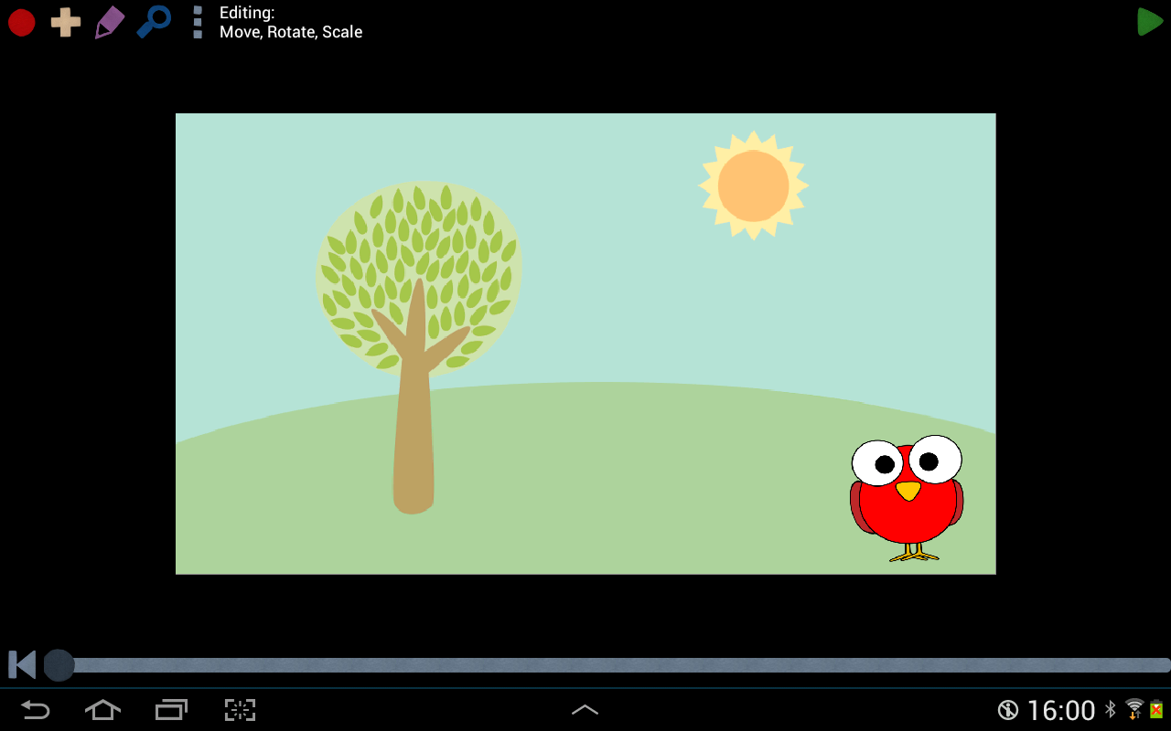 Make cartoons with Poppy Toons- screenshot