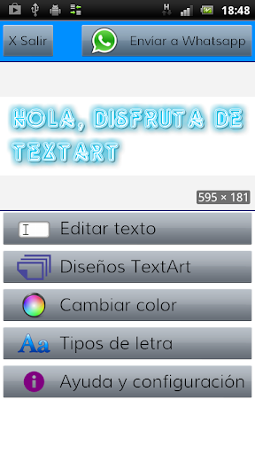 TextArt u2605 Cool Text creator 1.1.7 screenshots 10