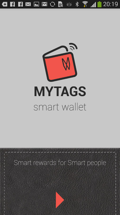 MYTAGS Wallet- screenshot