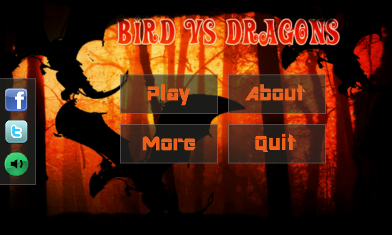 Bird Vs Dragons - screenshot