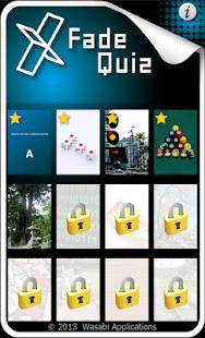 【免費棋類遊戲App】X Fade Quiz-APP點子