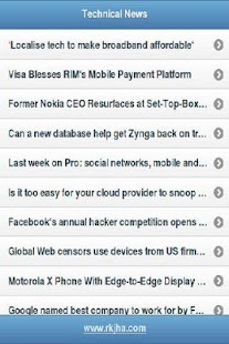 Tech News - screenshot thumbnail