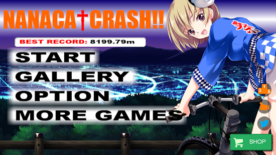 NANACA†CRASH!! Bike Crash Game- screenshot thumbnail