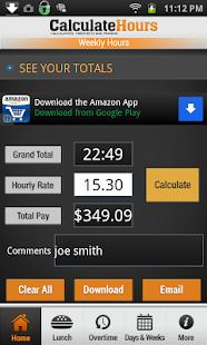 timecare calculator