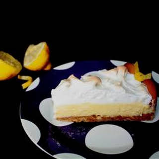 Magic Lemon Pie.