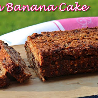 Vegan Banana Cake.