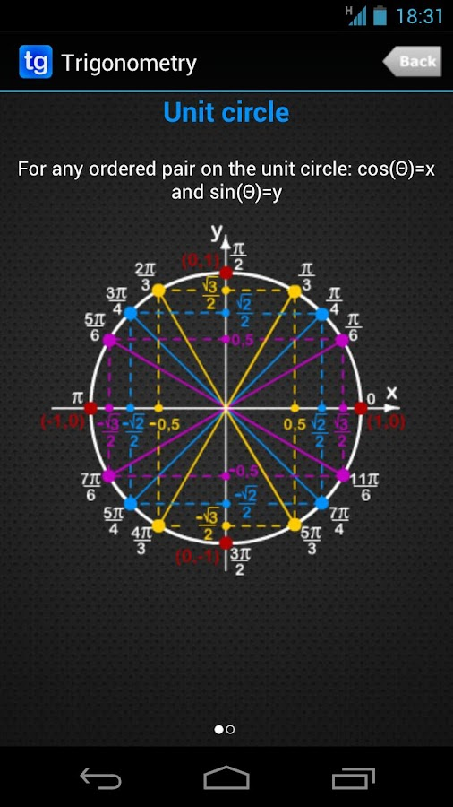 Trigonometry - screenshot