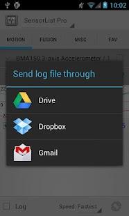 SensorList Pro- screenshot thumbnail