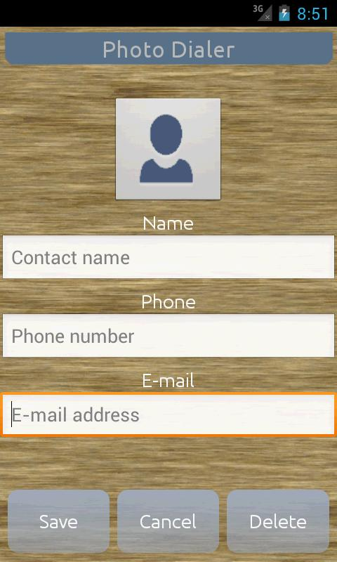 Photo Dialer & Contact & Phone - screenshot