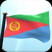 Eritrea Flag 3D Live Wallpaper